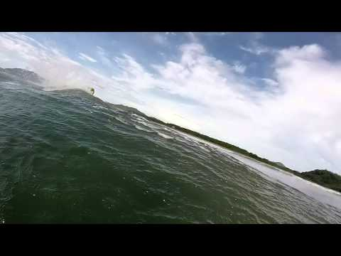 Surf session at Langosta beach in Tamarindo, Costa Rica!