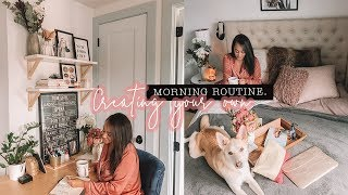 How to Create Your Own PERFECT MORNING ROUTINE| Antonnette