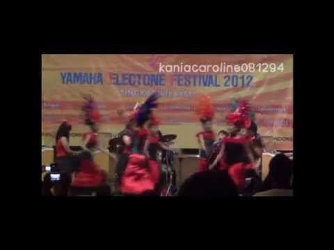 XPRESSIVO YAMAHA ELECTONE FESTIVAL 2012 TINGKAT WILAYAH PART 1