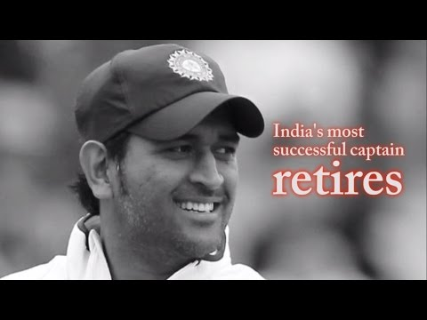 Mahendra Singh Dhoni: a graph of Test cricket and career