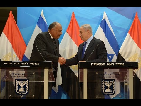 Statements by PM Netanyahu and Egyptian Foreign Minister Sameh Shoukry
