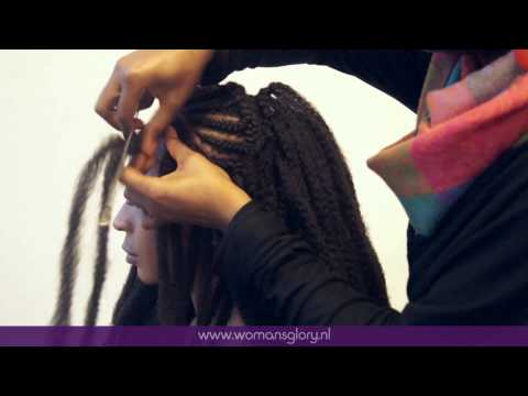 Protective hairstyles    Crochet Braids    Afro Twist Braid    Marley Hair Braid