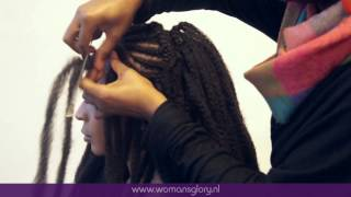 Crochet Braids Using Bobby Pin : ... hairstyles Crochet Braids Afro Twist Braid Marley Hair Braid