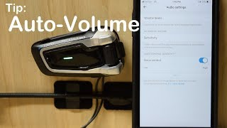"Cardo PACKTALK/BOLD - More Volume and ""Auto-Volume"" Feature"