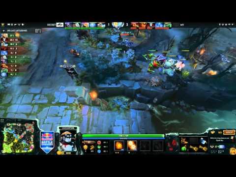 Secret vs Malaysia RedBull GrandFinals Day 1 by v1latFngDendi