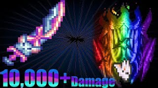 terraria crazy buffed up Nyanmere vs Supreme Calamitas and vanilla bosses