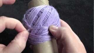 Wind a Center Pull Ball of Yarn