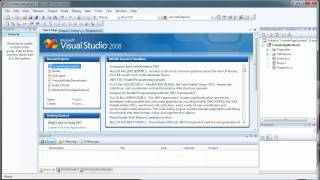Basic Introduction to Classes and Objects - C# C Sharp Visual Studio 2008