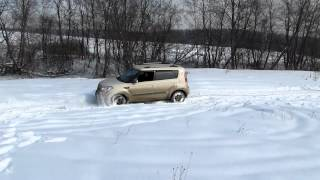 Kia Soul Snow Off Road