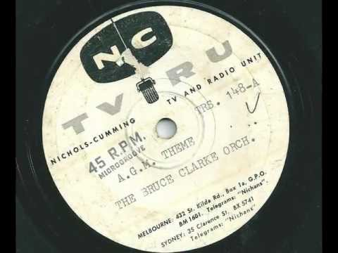 The Bruce Clarke Orchestra - AGM Theme - 1957 - NC TRS-148