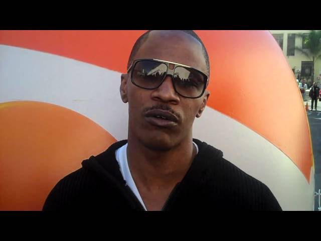 Jamie Foxx talks about RIO
