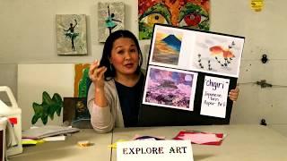 Lesson 1 Explore Art Chigiri E And Kiri E Lesson