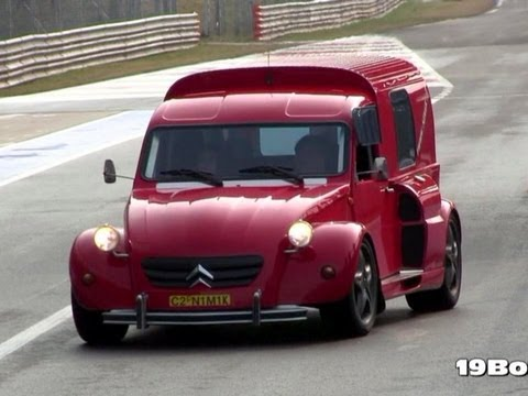 2CV Nimik - Ferrari F355 V8 Engine w/ Capristo Exhaust REVS SOUND!!!