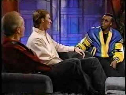Tom Chambers NBA Arsenio Hall Show 1991