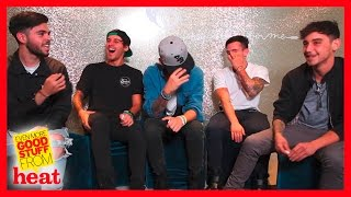 The Janoskians impersonate Ariana Grande, Taylor Swift and more in heat