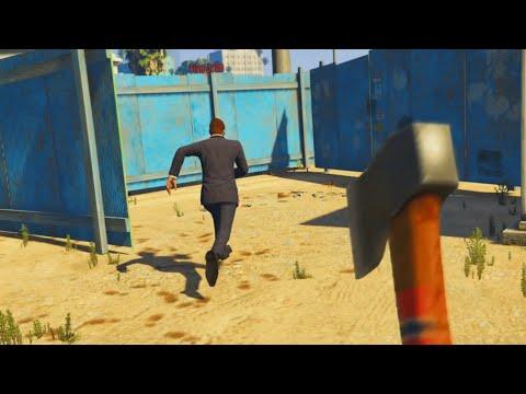 GTA 5 Xbox One - HIDE & SEEK MAZE KILLING! (GTA 5 Funny Moments)