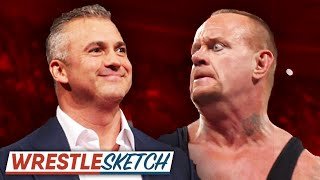 When The Undertaker Meets Shane McMahon... | WrestleSketch #1