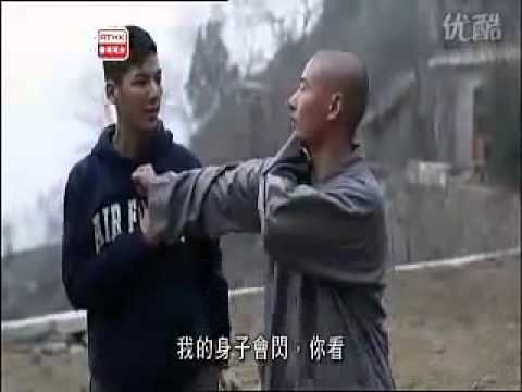 Shaolin Master Sparring and Teaching Image 1