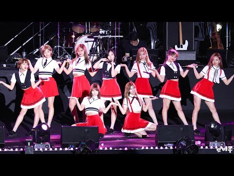 170526 TWICE(트와이스) - CHEER UP (치어업) [40TH KOREA UNIVERSITY FESTIVAL 2017] 4K직캠 by 비몽