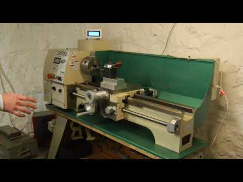 CNC Lathe Conversion overview. Grizzly G0602 G0752. WITH manual controls