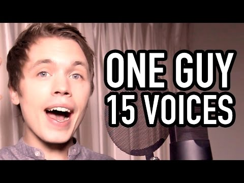 One Guy, 15 Voices