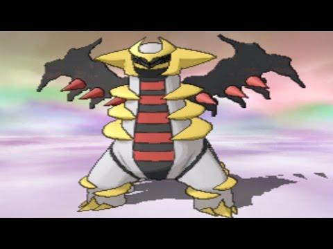 Pokemon Omega Ruby And Alpha Sapphire - Catching Giratina video