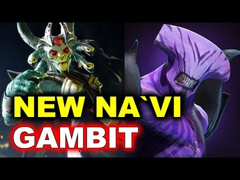 NEW NAVI Roster Debut vs Gambit! E - StarLadder Minor DOTA 2