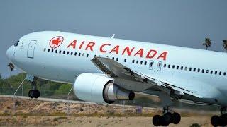 Air Canada Mainline Heavies at Los Angeles International Airport