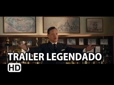 Walt nos Bastidores de Mary Poppins Trailer Legendado (2014) HD
