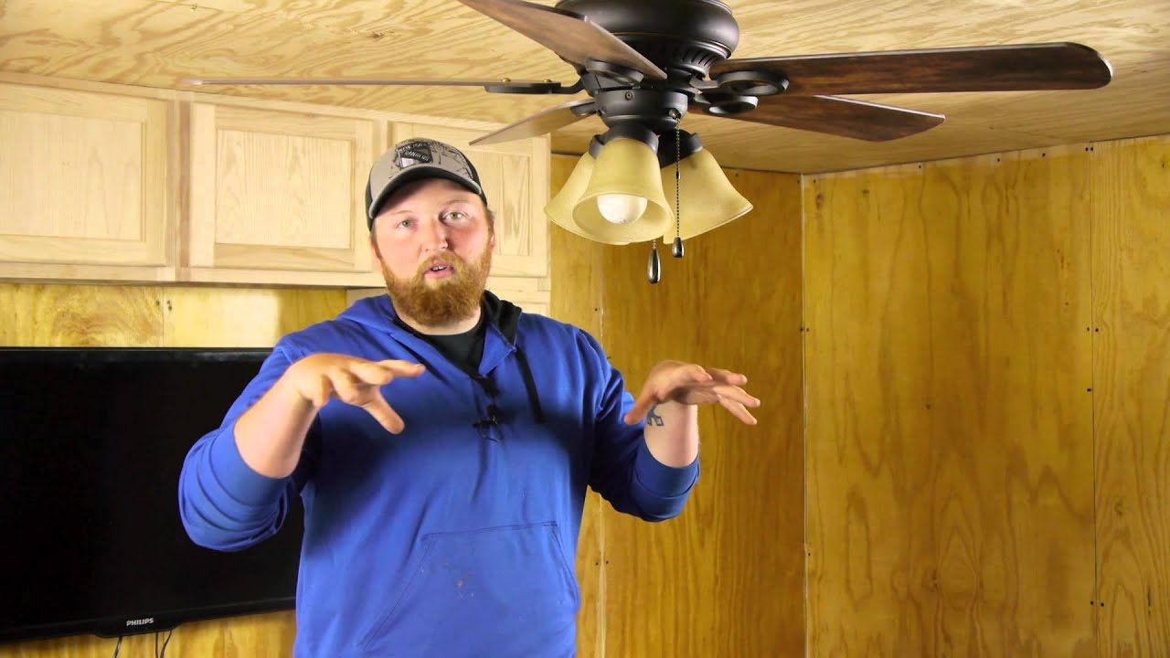 the proper ceiling fan settings for winter summer ceiling fan projects youtube. Black Bedroom Furniture Sets. Home Design Ideas