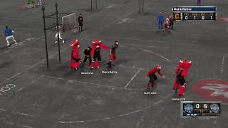 NBA 2K16 | My Park Gameplay | 3vs3 Mascot | Chicago Bulls Mascot