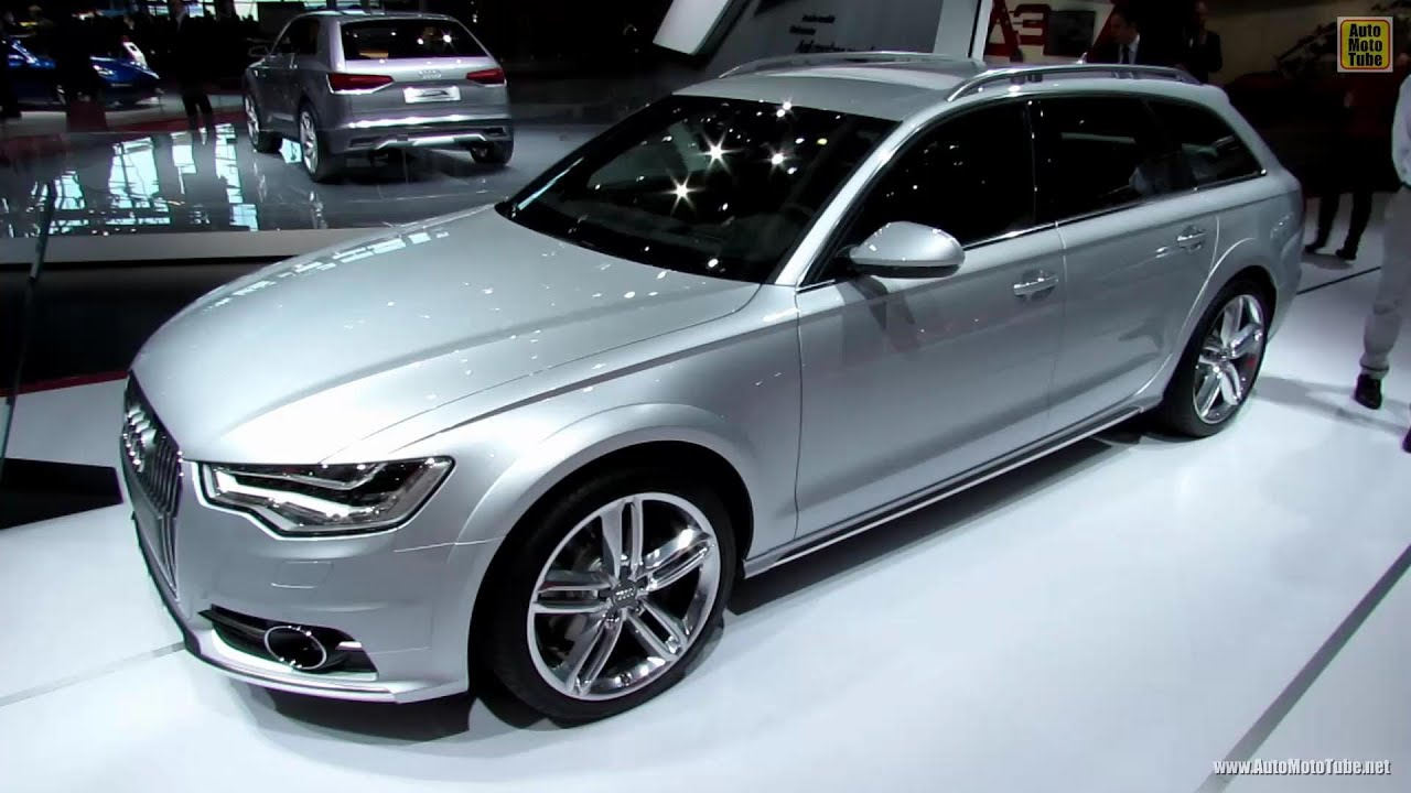 2013 Audi A6 Allroad Quattro Exterior And Interior Walkaround 2012 Paris Auto Show Youtube