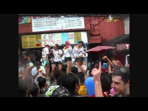 Songkran 2011 at Khao San Road
