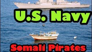 Somali Pirates VS US Navy Compilation! Training! HD