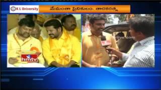 Nandamuri Taraka Ratna Face to Face over TDP Mahanadu 2017
