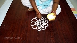 download lagu Simple Rangoli Designs  Simple Rangoli Kolam  Rangoli gratis
