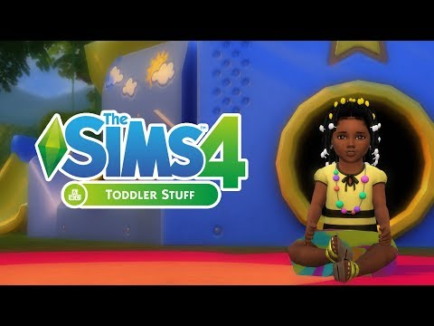 ⭐THE SIMS 4 TODDLER STUFF ||  FIRST LOOK & GAMEPLAY