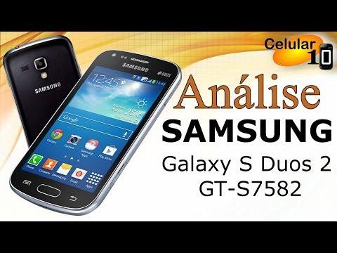 Análise: Samsung Galaxy S Duos GT-S7562( Celular10 )
