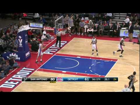 [HD] San Antonio Spurs vs Detroit Pistons | Full Highlights | February 11, 2015 | NBA Season 2014/1