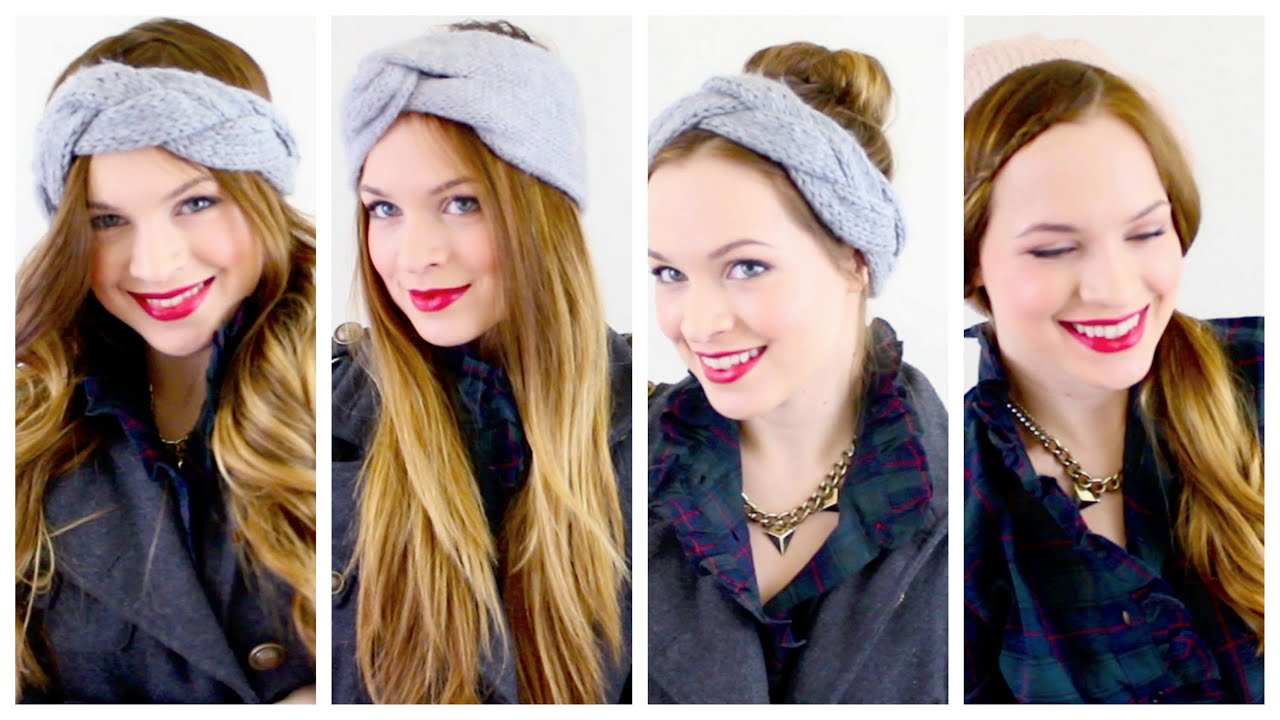 Hairstyles For Head Wraps / Beanies to Keep Warm this