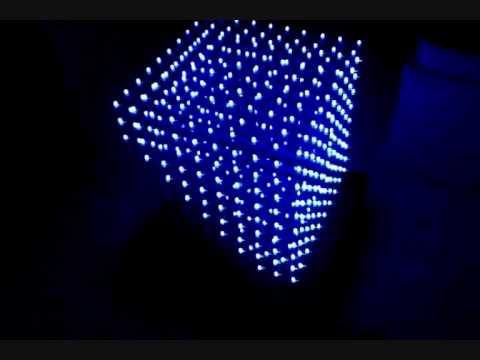 10 x 10 x 10 Led Cube
