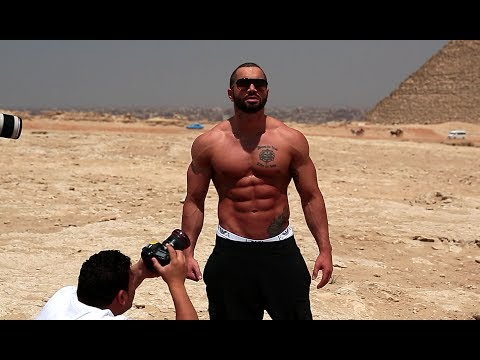 Lazar Angelov in Egypt
