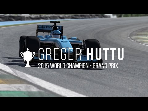 Your 2015 iRacing.com GP Series World Champion: Greger Huttu