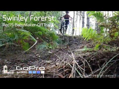 Swinley Forest Mountain Biking Downhill GoPro Hero3