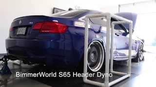BimmerWorld E9X M3 Longtube Tri-Y Header Dyno