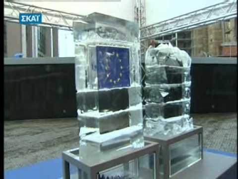 Daphne Matziaraki reporting from EU Parliament in Brussels on EU energy Policy