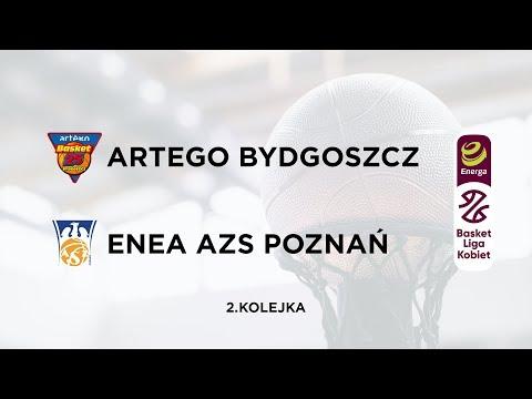 Artego Bydgoszcz - EneaAZS Poznań. (EBLK 2 Kolejka)