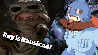 TFA Was Inspired by an Anime! Rey is Nausicaa?