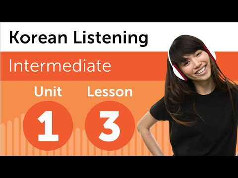 Korean Listening Practice - At the Hairdresser in South Korea