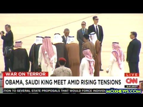 NO TOP OFFICIALS GREET OBAMA TO SAUDI ARABIA!